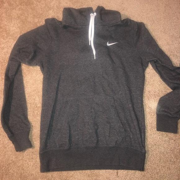 Nike Tops - Grey Nike Sweatshirt/ Hoodie - Small